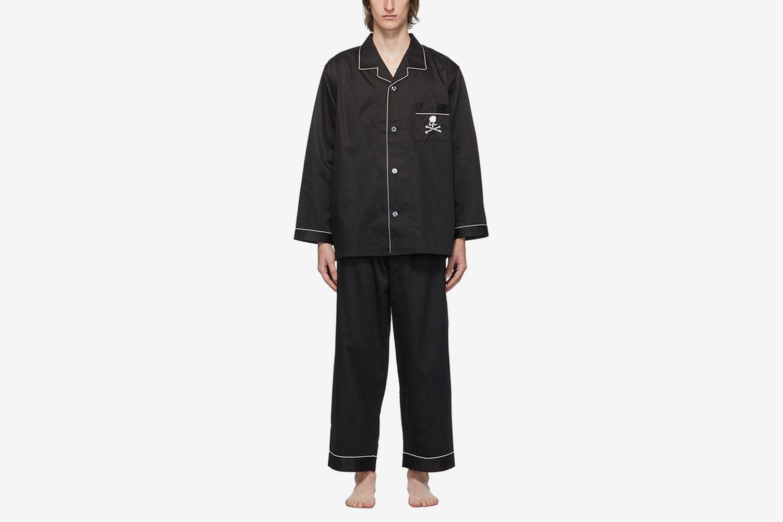 Embroidered Pyjama Set
