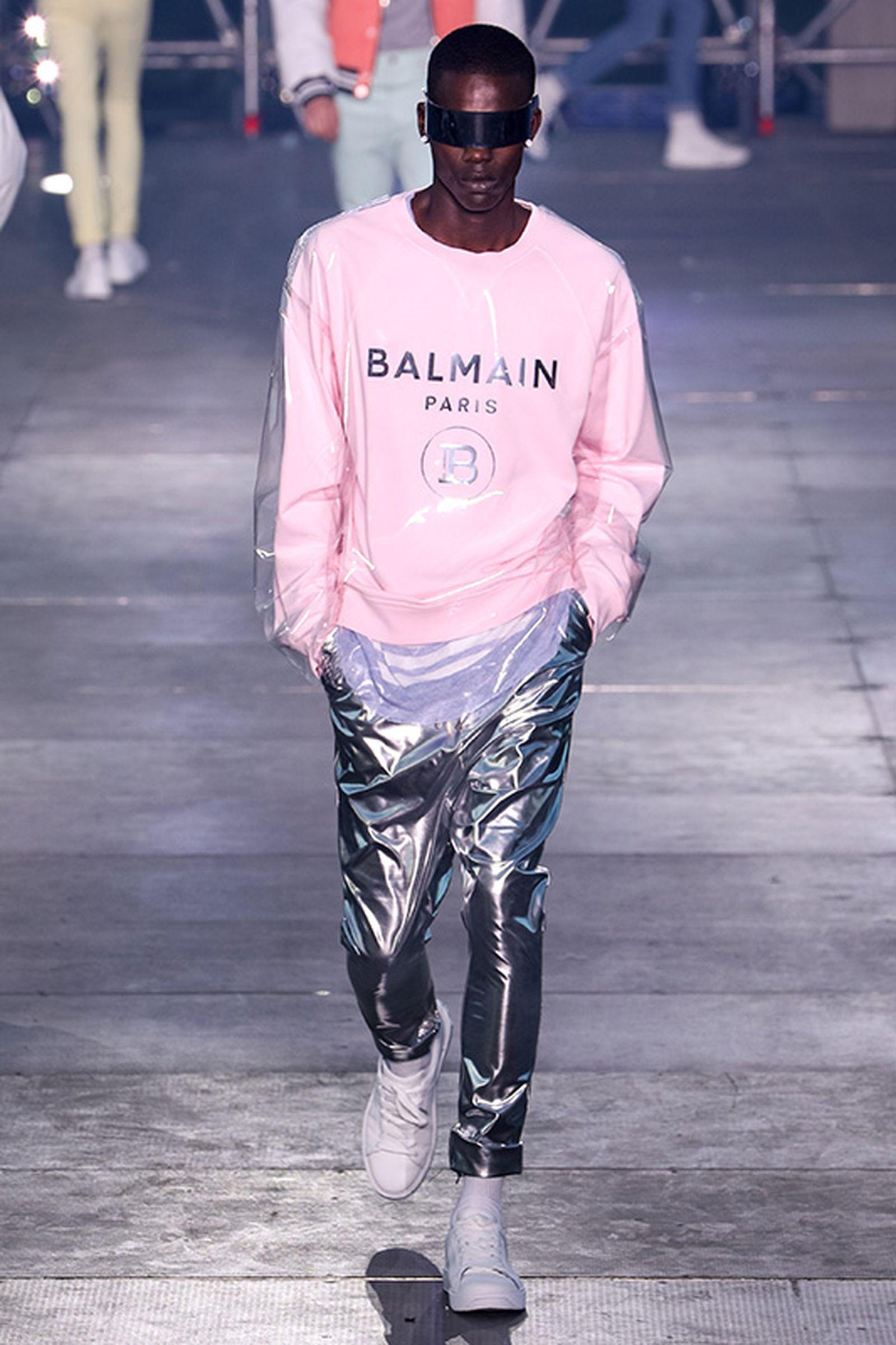 Balmain Festival V01:at Jardin des Plantes Olivier Rousteing paris fashion week runway