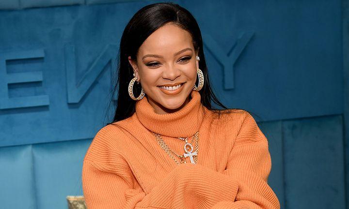 Rihanna the launch of FENTY at Bergdorf Goodman