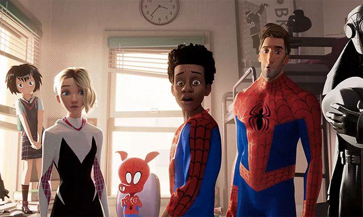 spider verse sony Spider-Man: Into the Spider-Verse