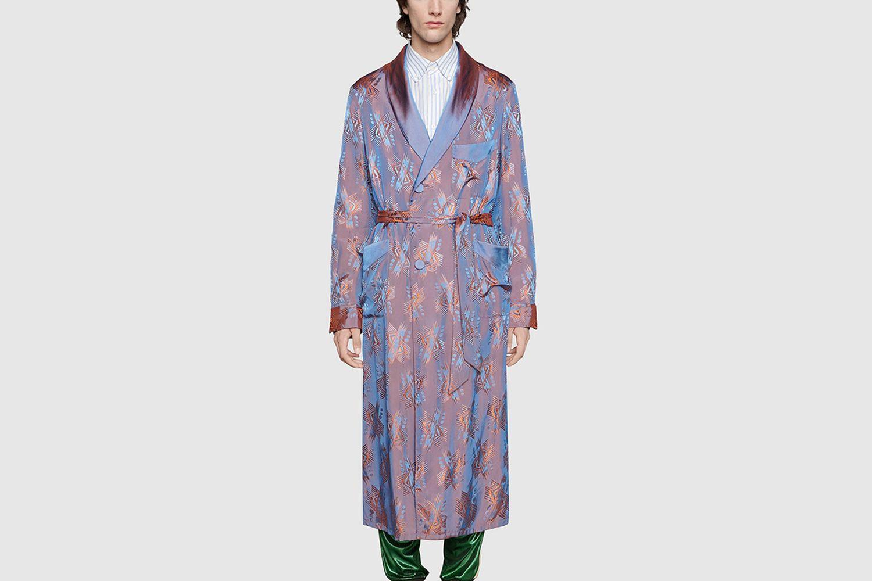 Shimmering Jacquard Jacket