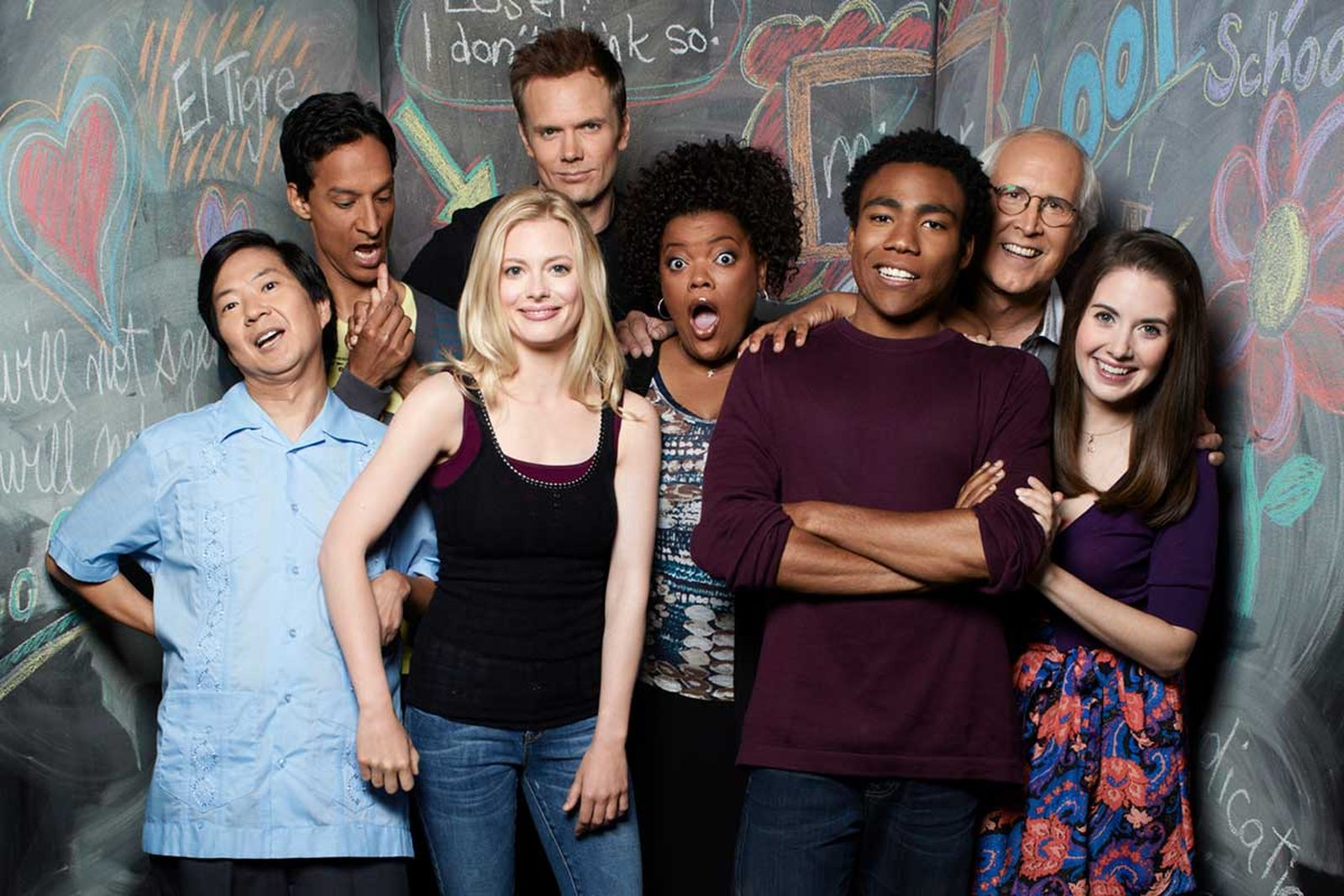 'Community' show with Donald Glover