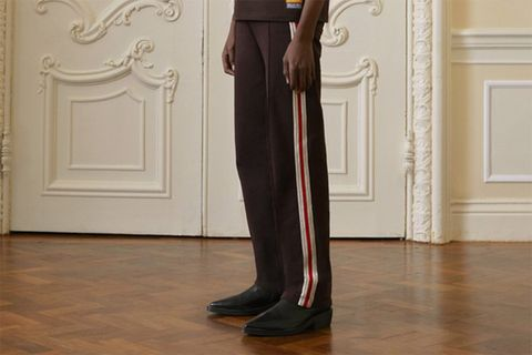 luxury tracksuits by Wales Bonner