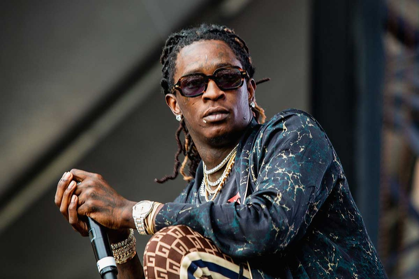 Young Thug performs at Bumbershoot at Seattle Center