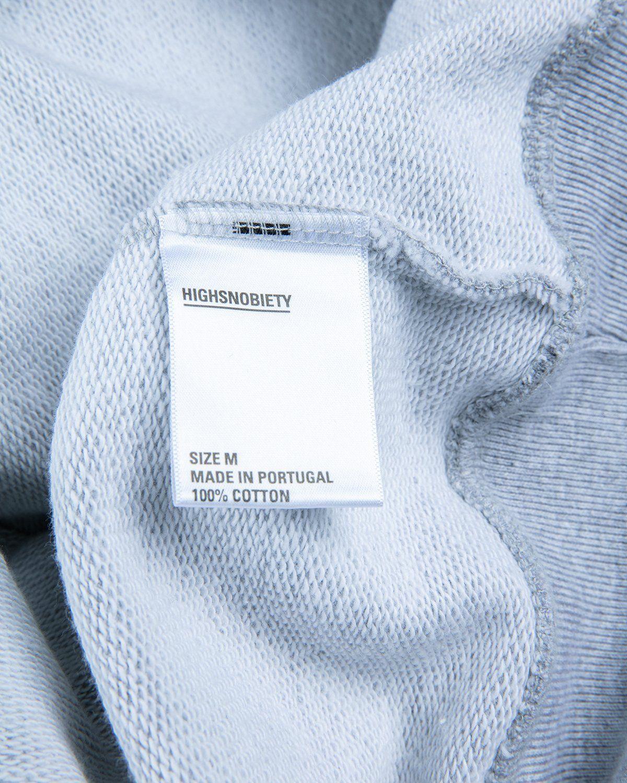 Highsnobiety — Not In Paris 3 Kiss Hoodie Grey - Image 5