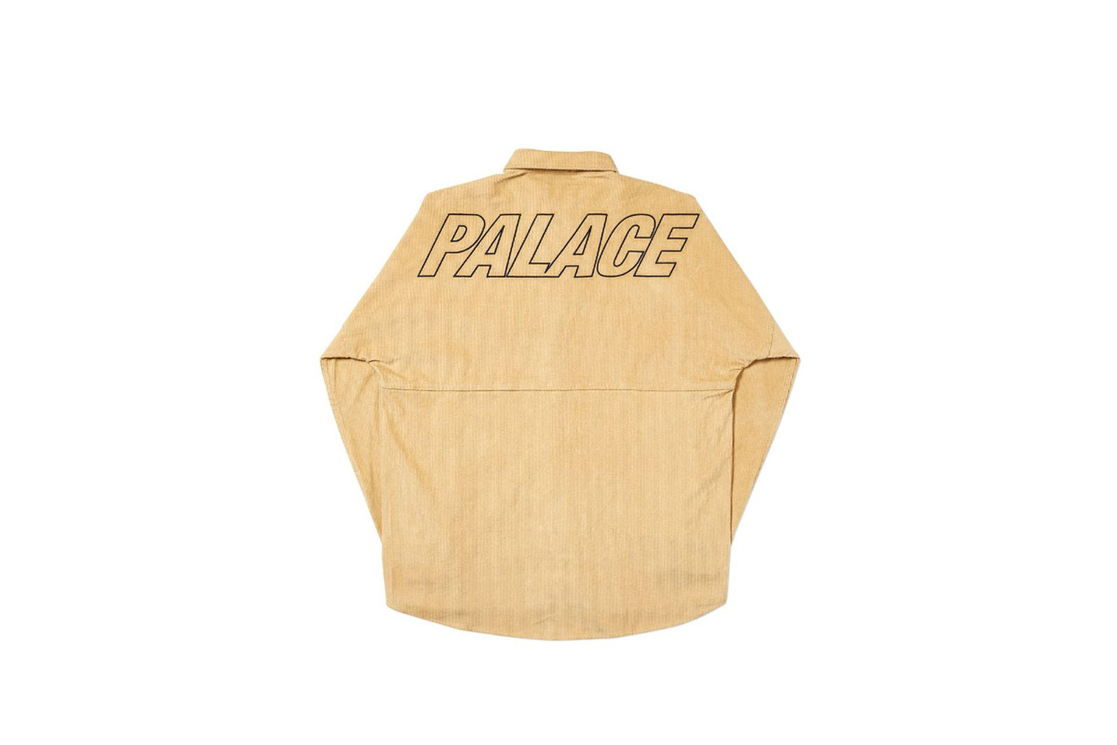 Palace 2019 Autumn Shirt Drop Cord ten back fw19