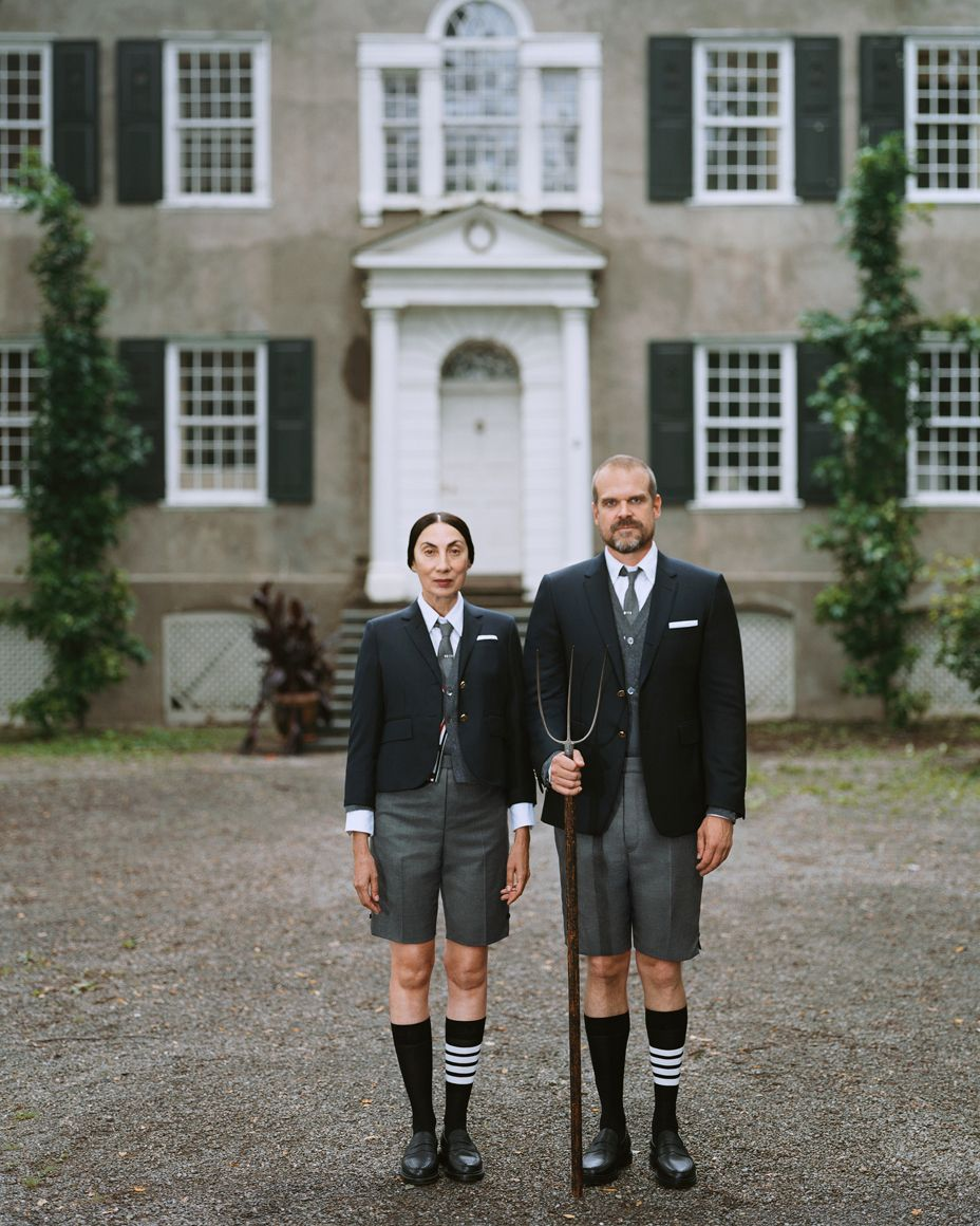 No 'Stranger Things' Here, Just Thom Browne's 'American Gothic'