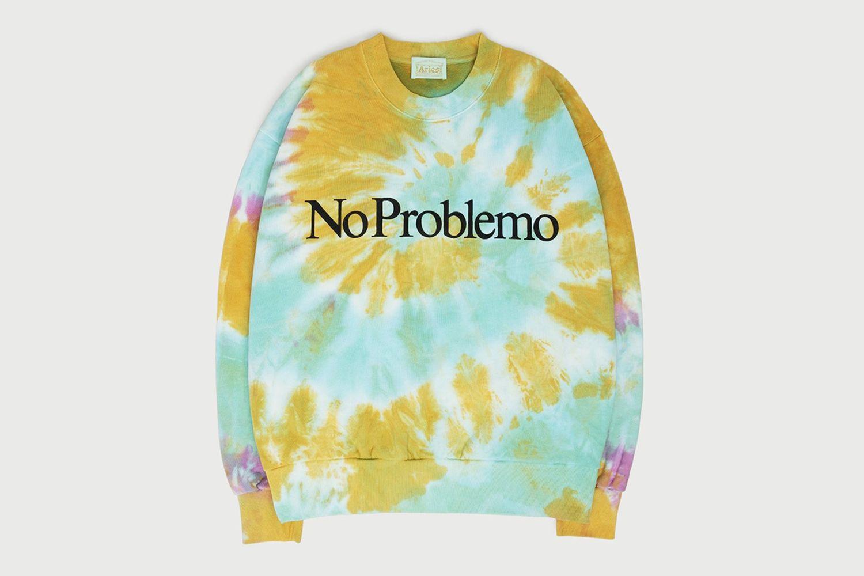 """No Problemo"" Tie Dye Sweatshirt"