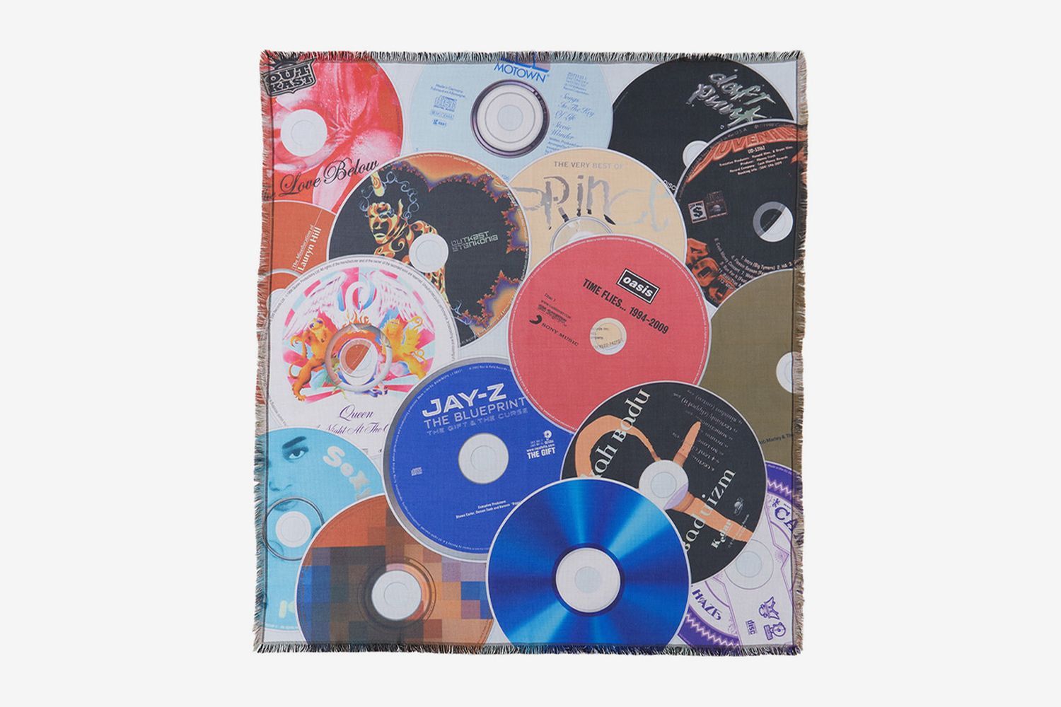 Greatest Albums Of All Time Throw Blanket