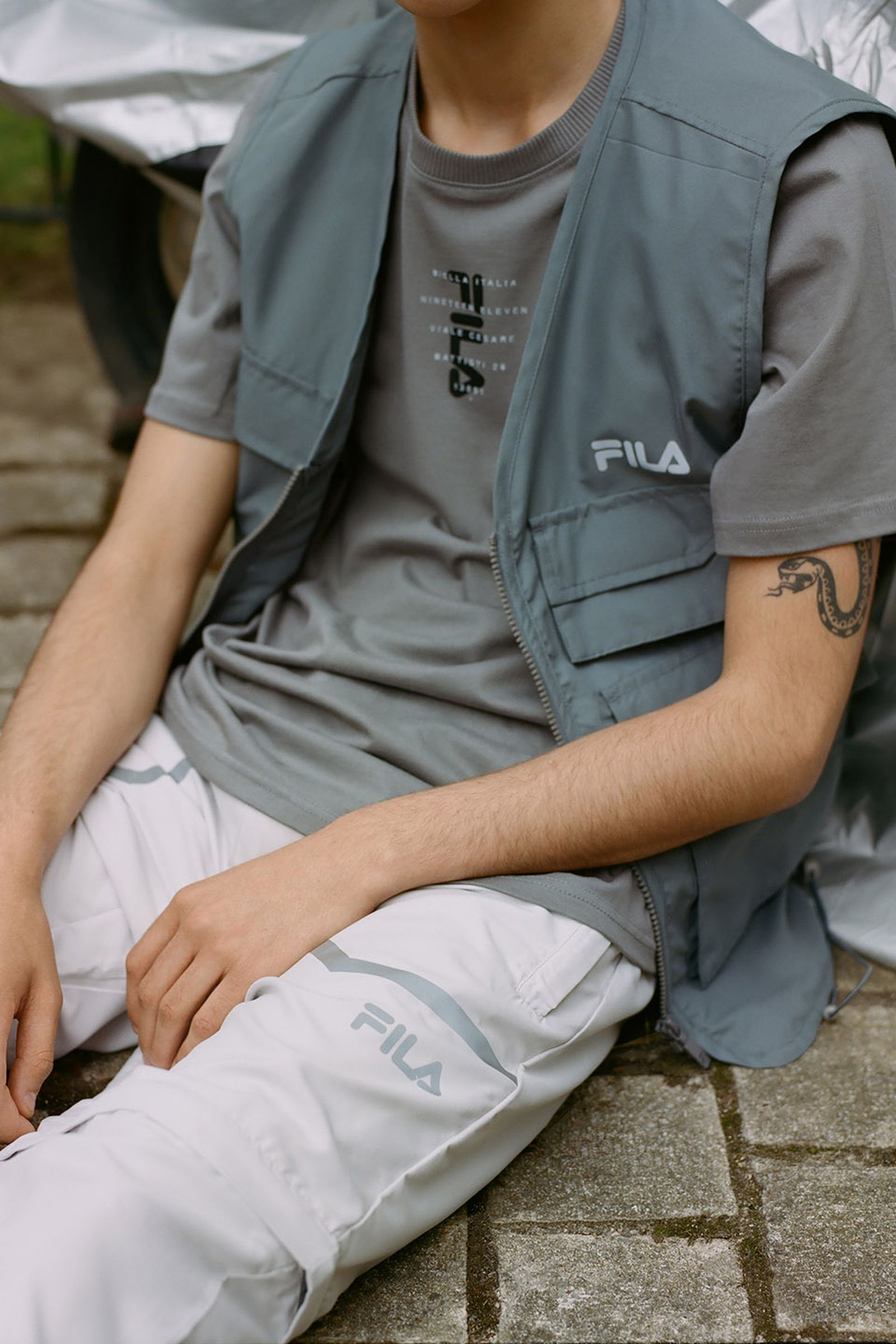 Fila UO urban outfitters utility design