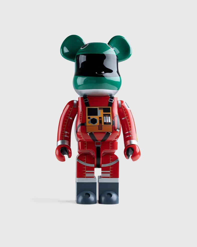Medicom Be@rbrick – Space Suit Green Helmet & Orange Suit 1000%