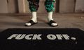 "Raised by Wolves' Coveted ""Fuck Off"" Door Mat Returns for SS19"