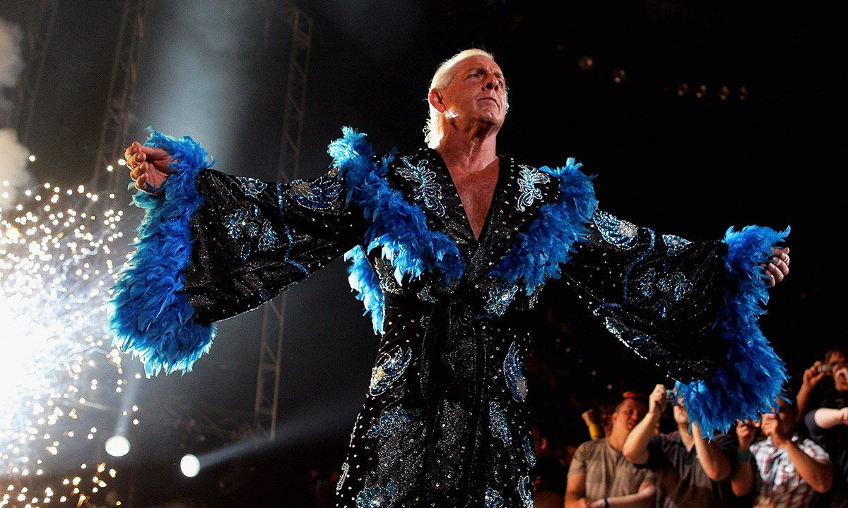 Ric Flair Reveals He's Signed a Deal With adidas & Wants to Take Down Nike