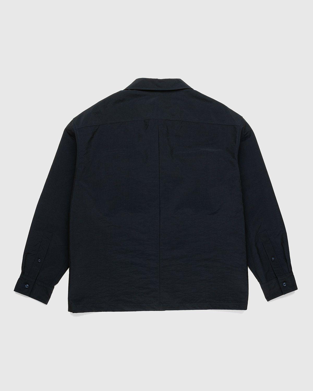 A-COLD-WALL* – Cuban Collar Shirt Navy - Image 2