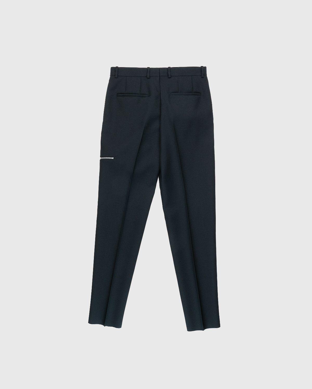 Jil Sander – Zip Pocket Trousers Black - Image 2