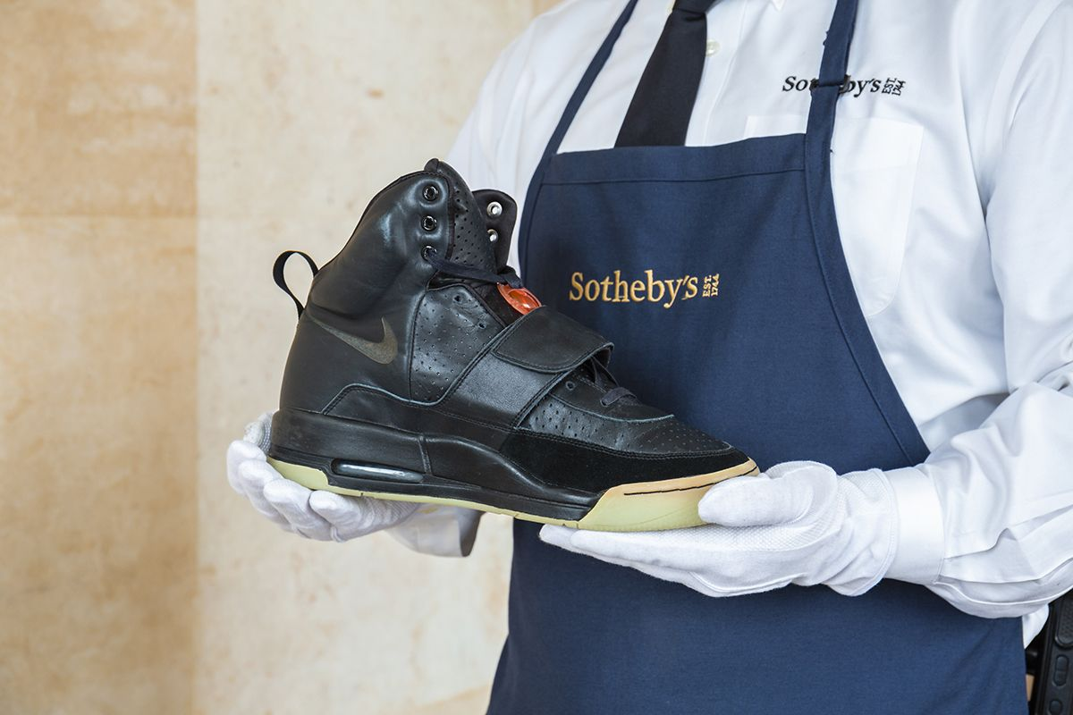 Kanye's Nike Air Yeezy 1 Prototype Is Up for Grabs for $1 Million-Plus 5
