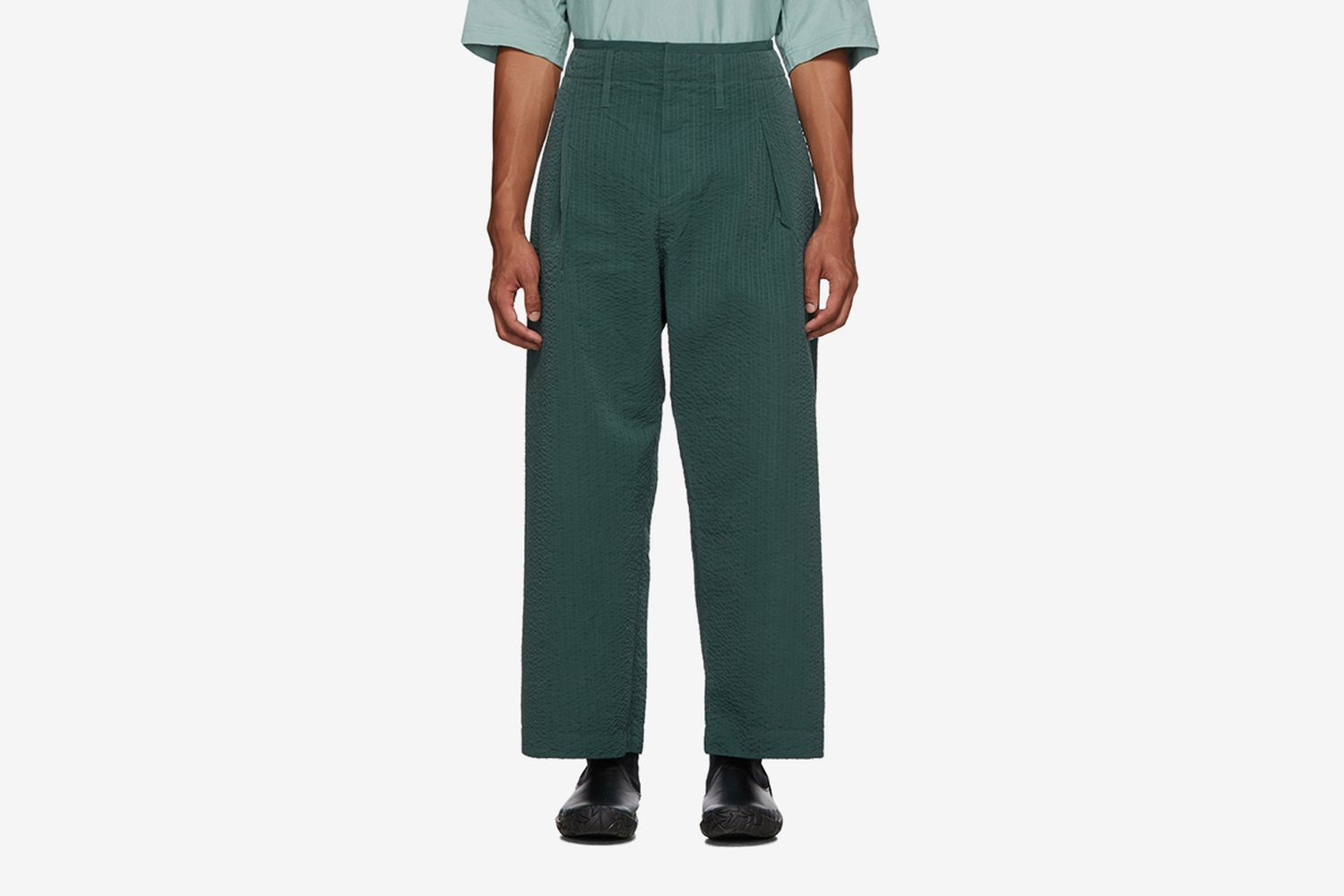 Line Stitch Worker Trousers