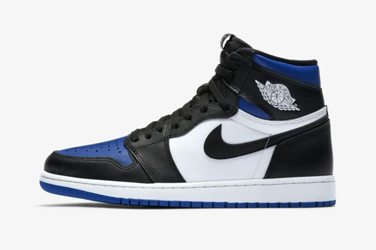 "Nike Switches Things Up With the Air Jordan 1 ""White Royal"" 3"