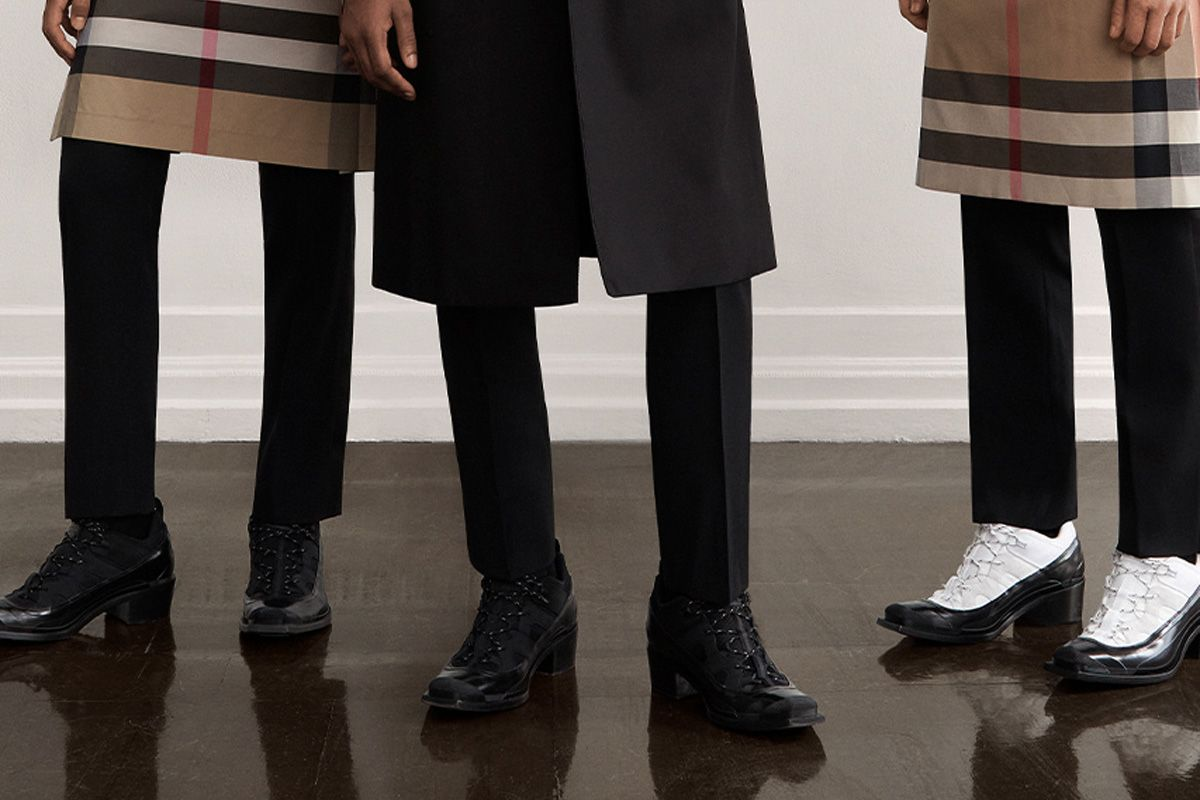 Burberry's New Boots Need a Therapist