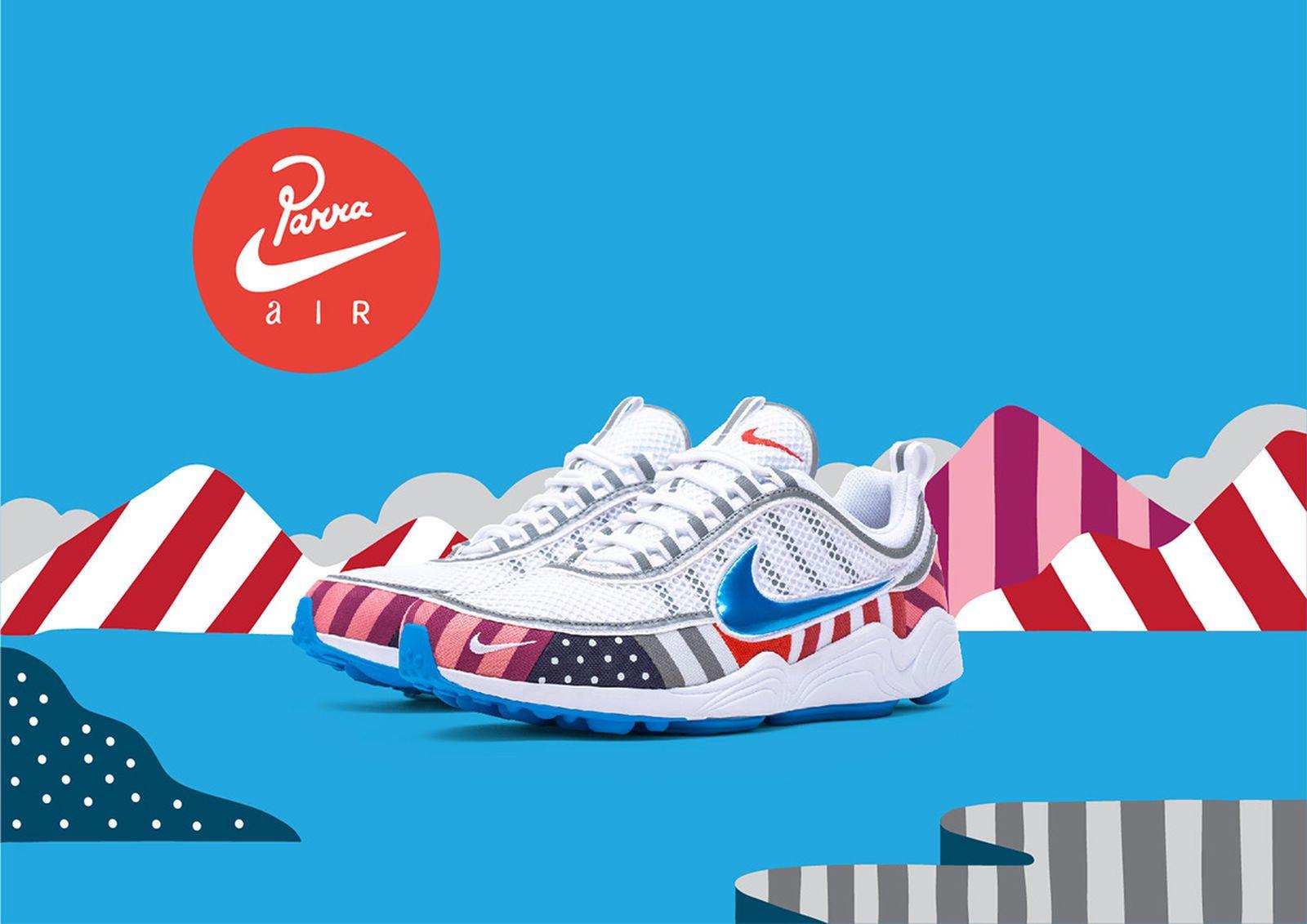 Parra Nike SPIRIDON air max 1