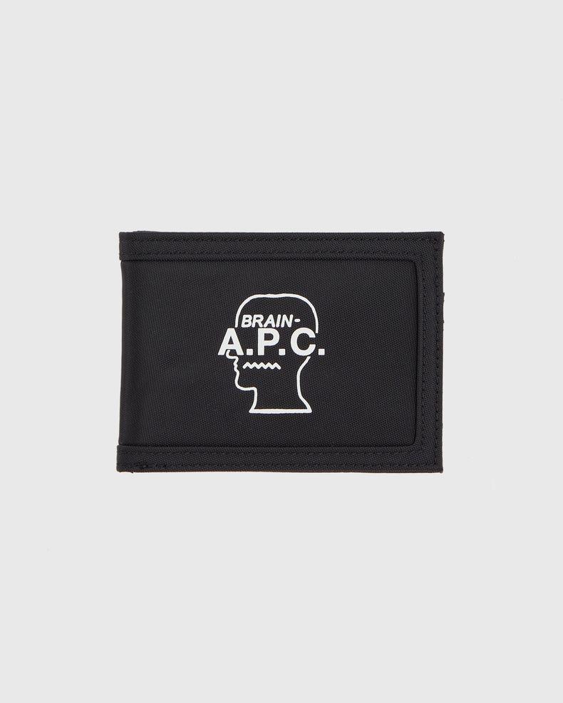 A.P.C x BRAIN DEAD - Black Porte-Cartes