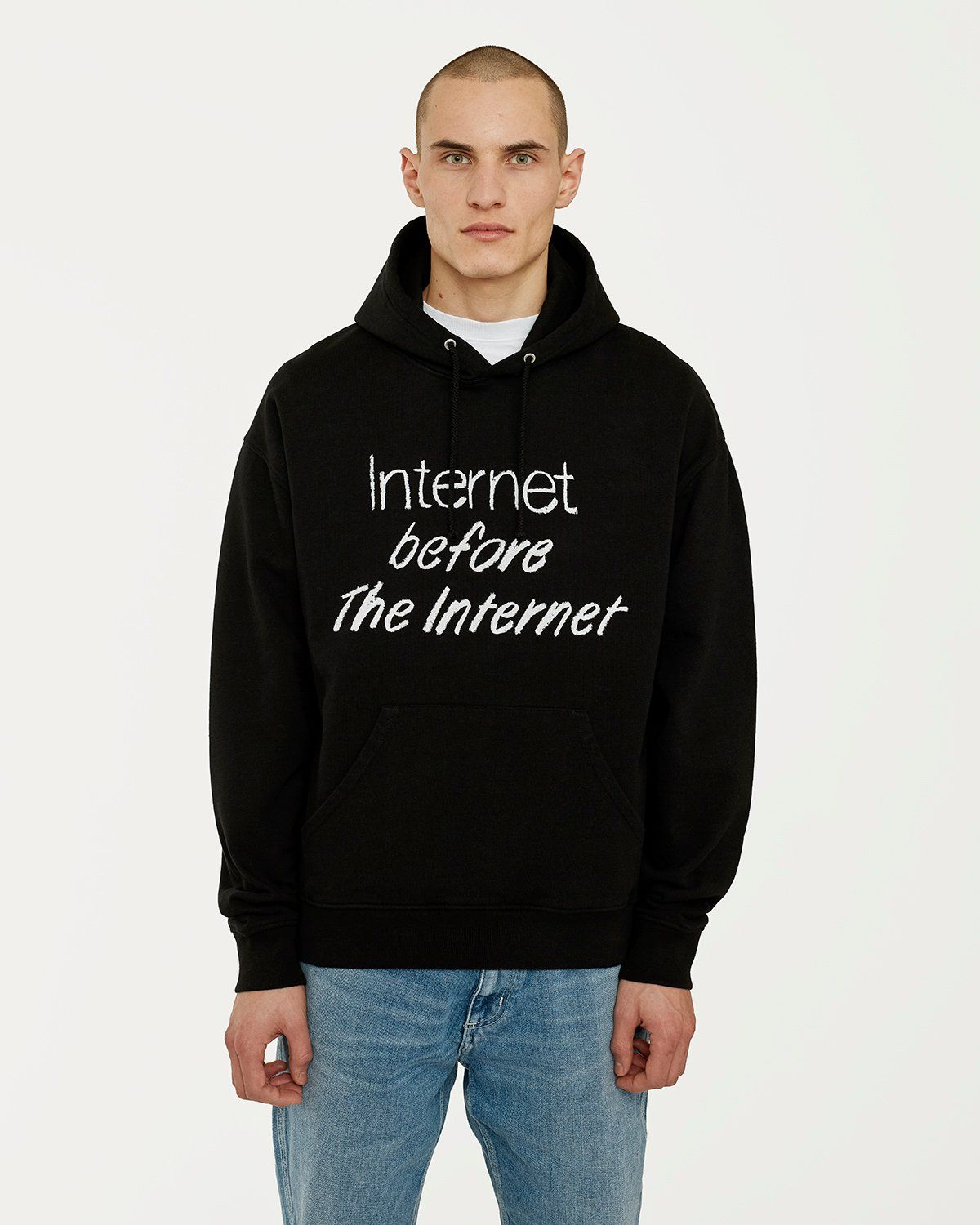 colette Mon Amour - The Internet Before The Internet Hoodie Black - Image 2
