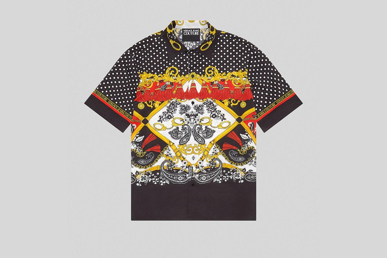 Paisley Fantasy Print Shirt