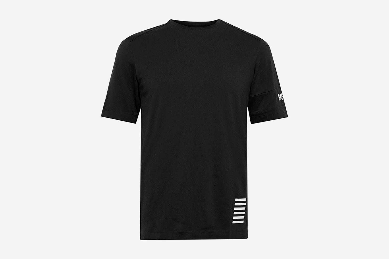 Pro Team Transfer Logo-Print Wool-Blend Jersey T-Shirt