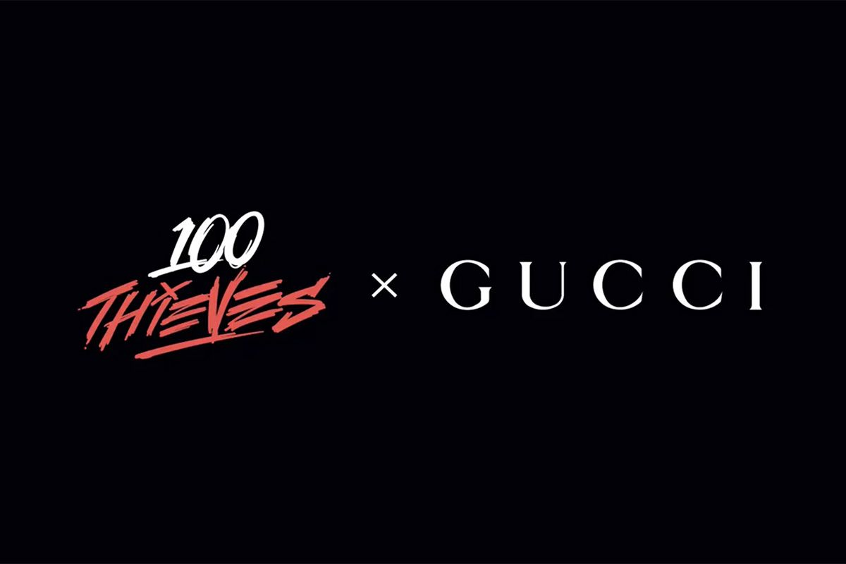 Gucci's Latest Surprise Collab Is With 100 Thieves