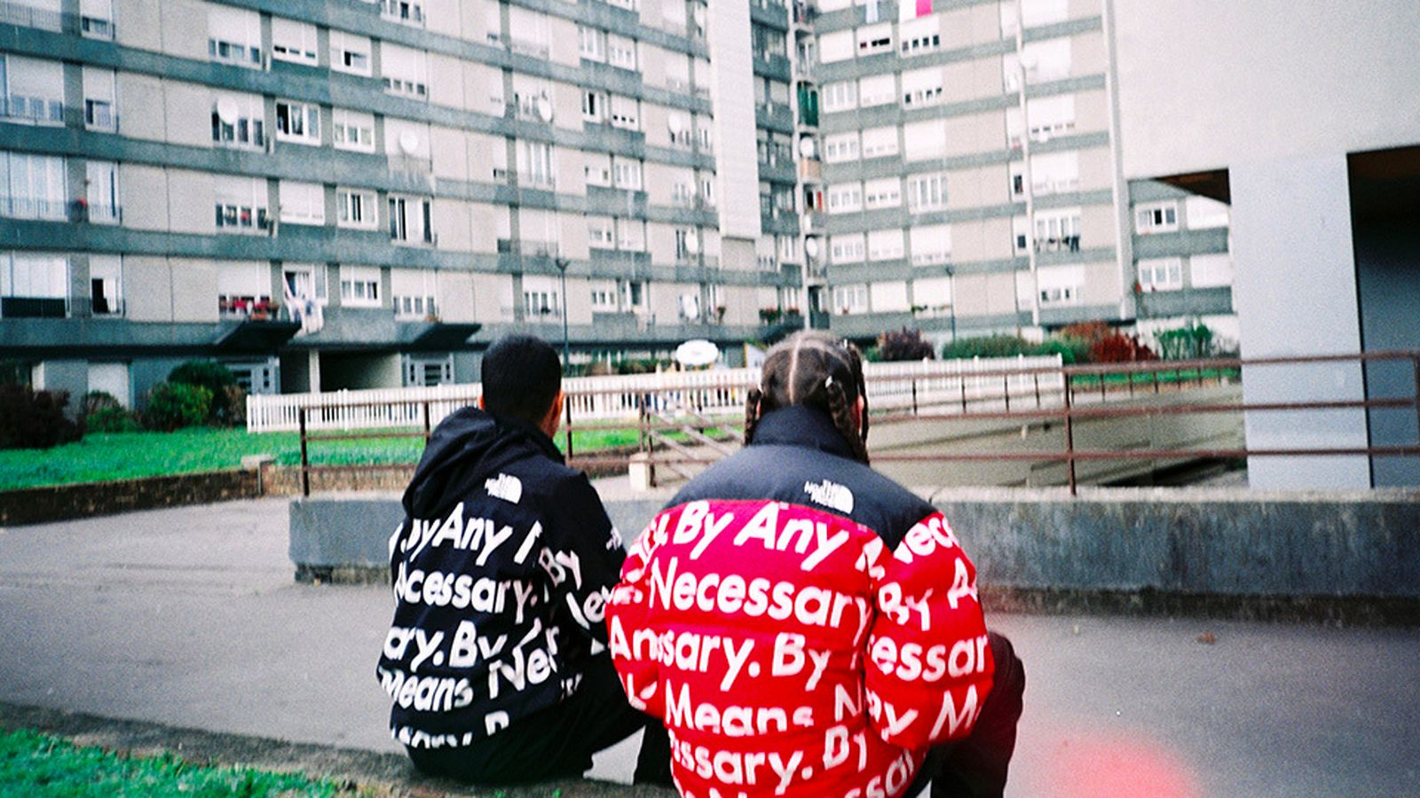 supreme x the north face history fw15