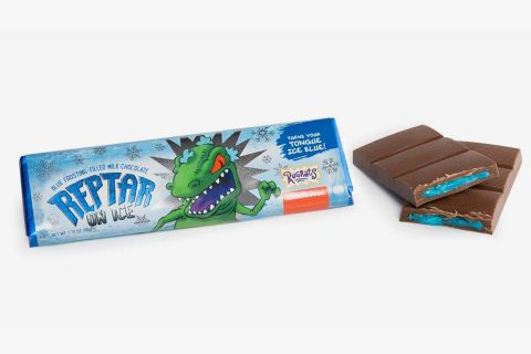 reptar rugrats candy back Raptor Bar nickelodeon