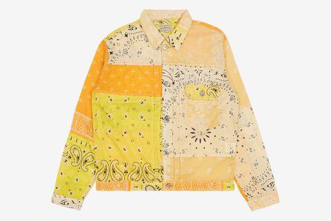 Gauze Bandana Patchwork 1st Jacket