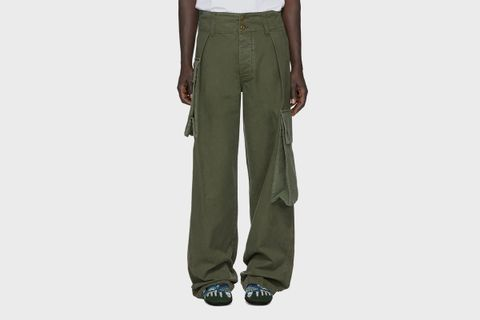 William De Morgan Canvas Cargo Pants