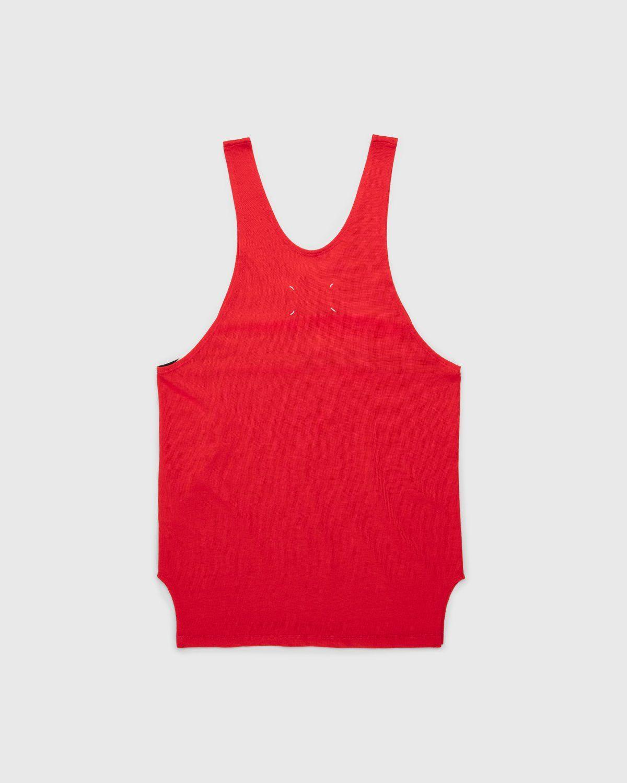 Maison Margiela – Tank Top Red - Image 2