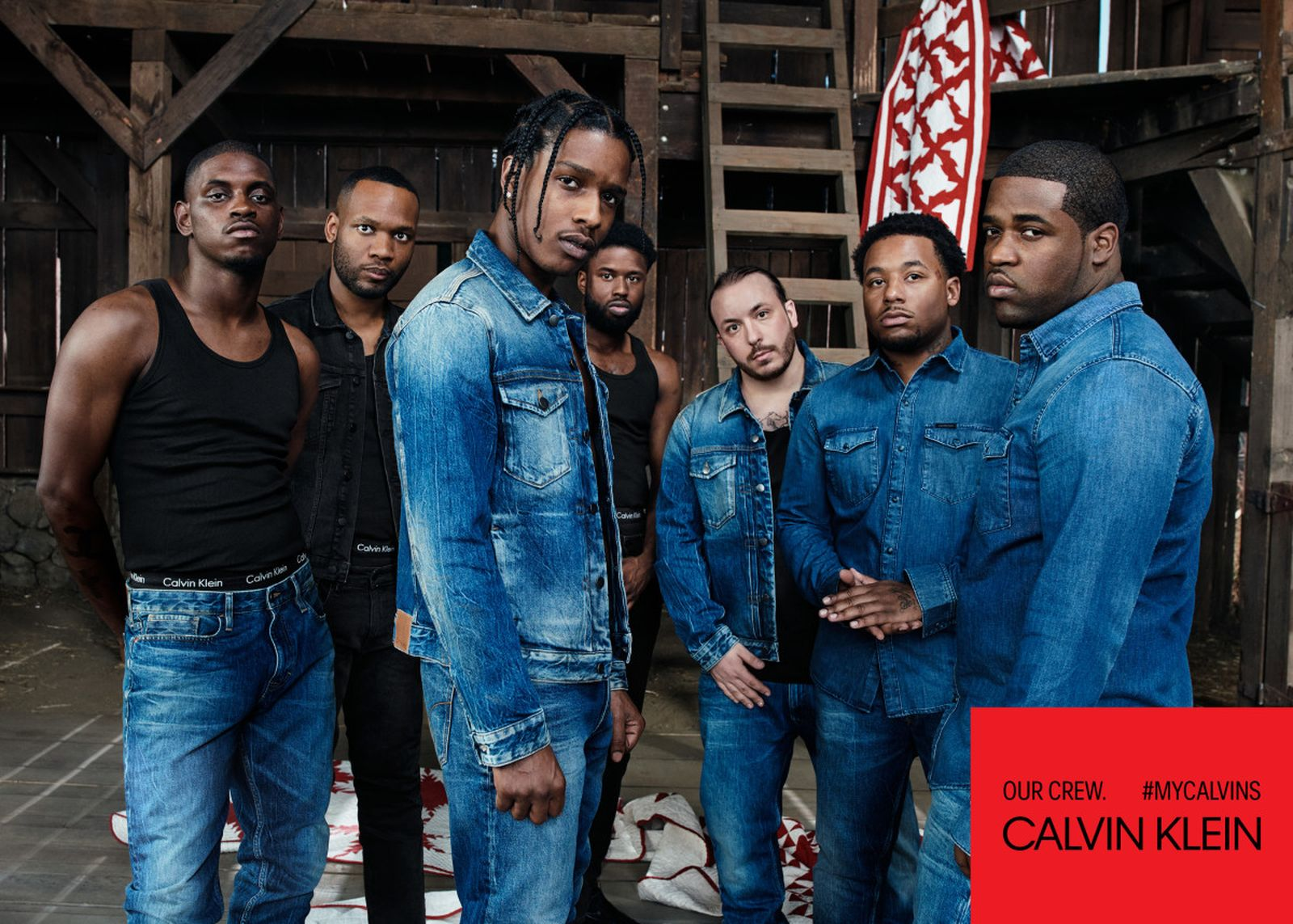 calvin klein underwearjeans mycalvins adv campaign asap mob ph willy va Raf Simons calvin klein 205w39nyc pvh corp