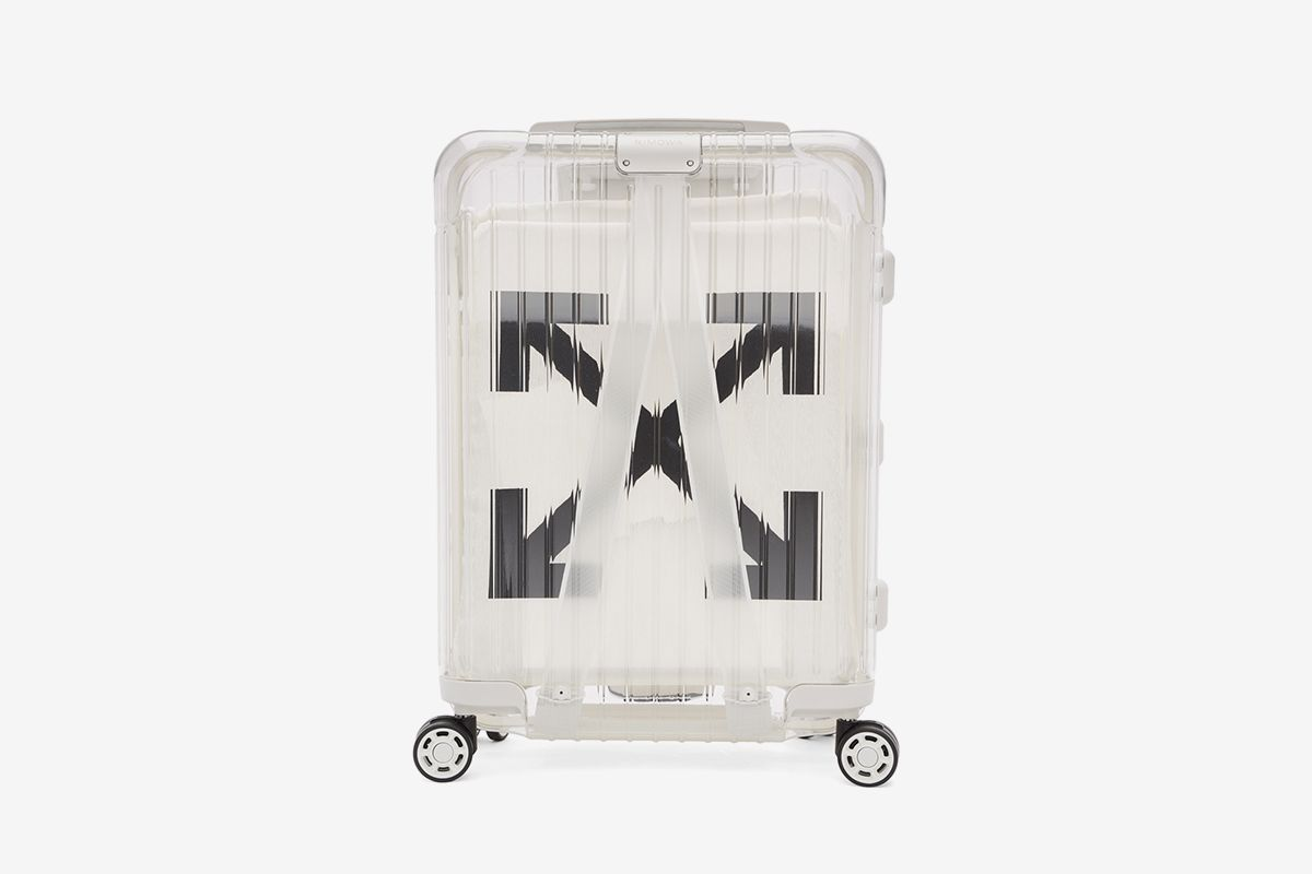 'See Through' Carry-On Suitcase