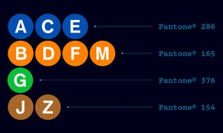 The Complete Pantone Color Breakdown of NYC's Subway System