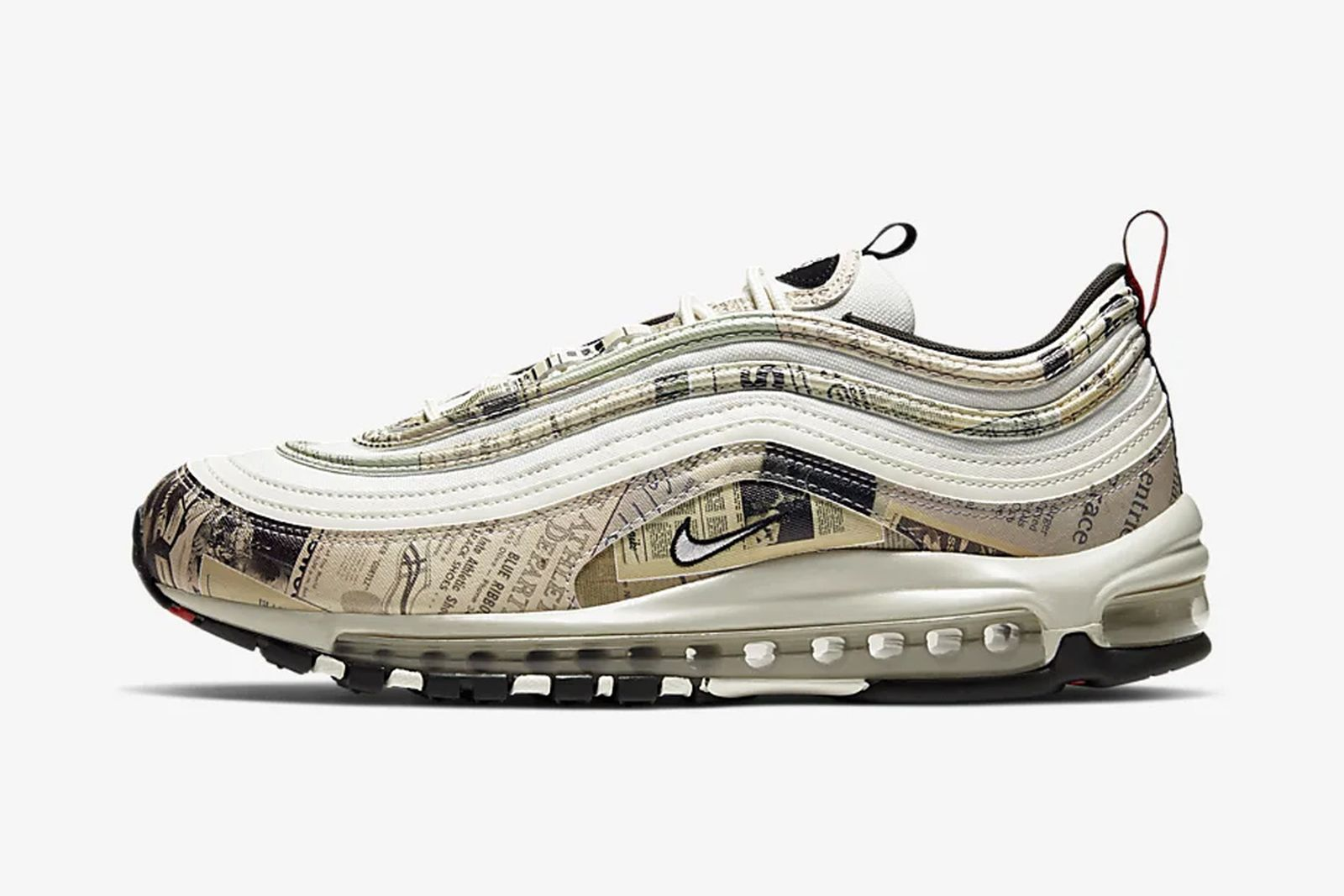 This Nike Air Max 97 Features a Photo of Another Brand's Sneaker