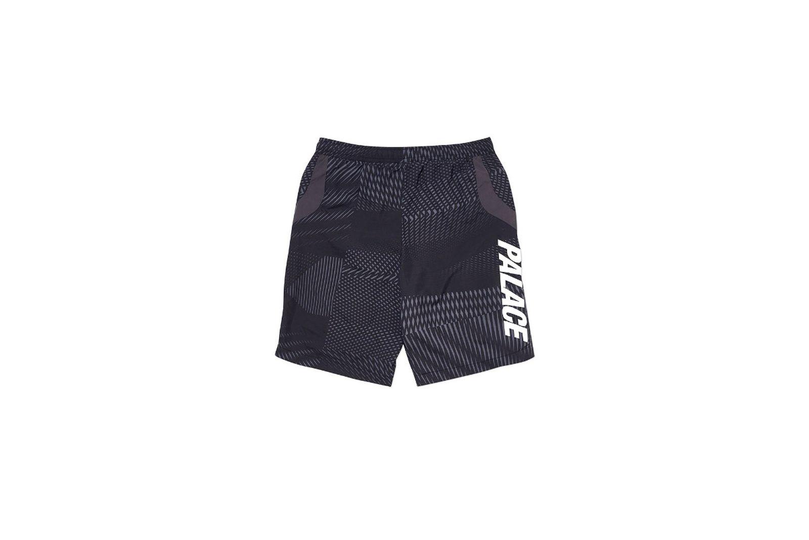 Palace 2019 Autumn Shorts Dazzler Shell black back