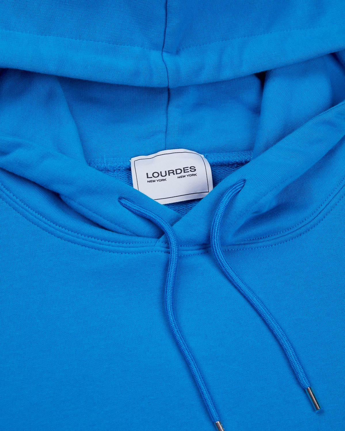 Lourdes NYC - Fawn Hoodie - Blue - Image 3