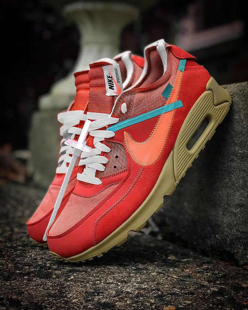 A Red Off-White™ x Nike Air Max 90 Could Be Dropping This Year 1