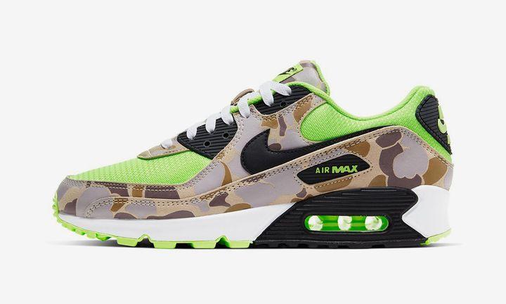 Nike Air Max 90 Ghost Green Duck Camo