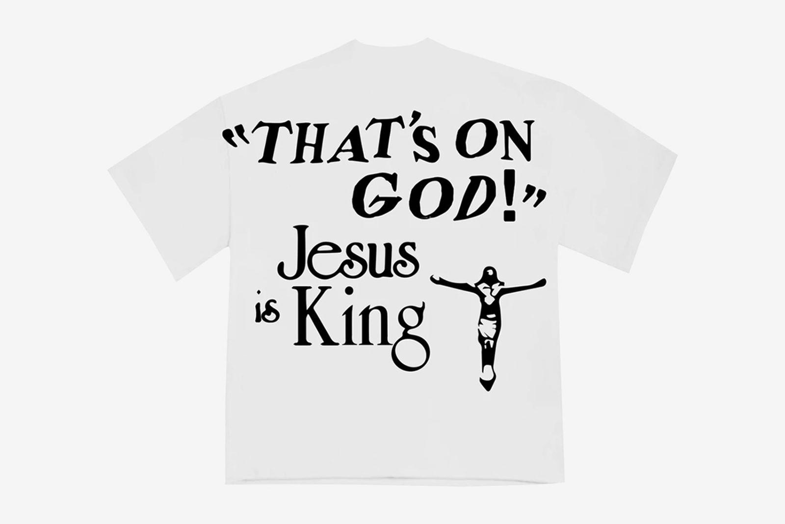 Kanye West Cactus Jack Flea Market Jesus Is King merch
