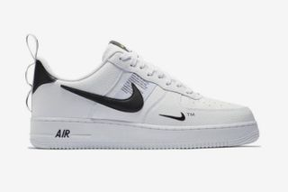 new concept 8ef55 80fc0 Nikes Air Force 1 LV8 Utility Returns in an OFF-WHITE-Inspired Makeover