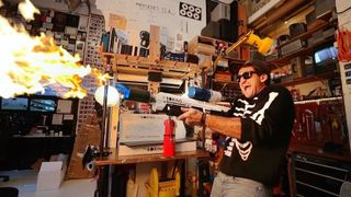 casey neistat elon musk boring company flamethrower review