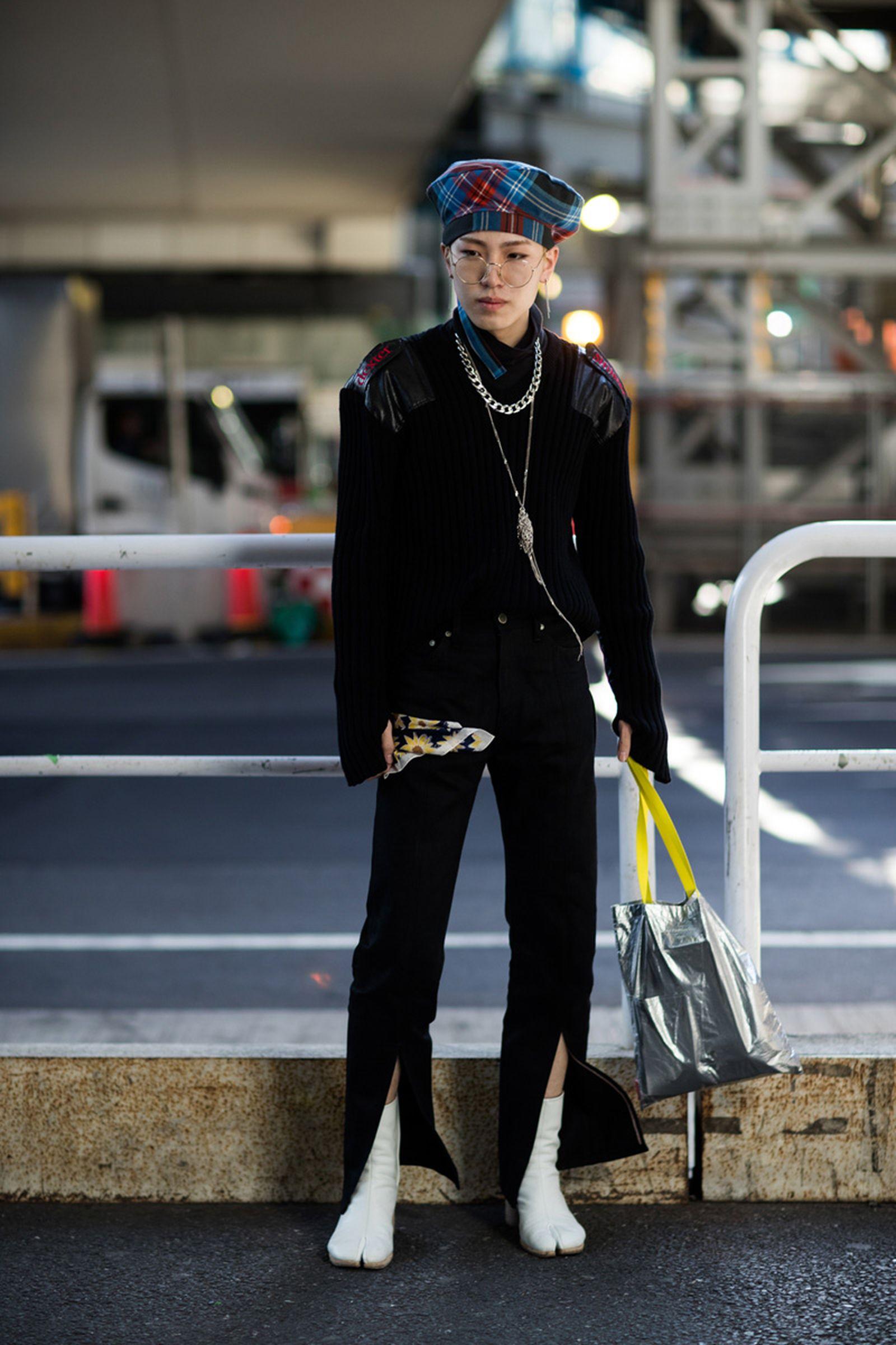 21tokyo fashion week street style