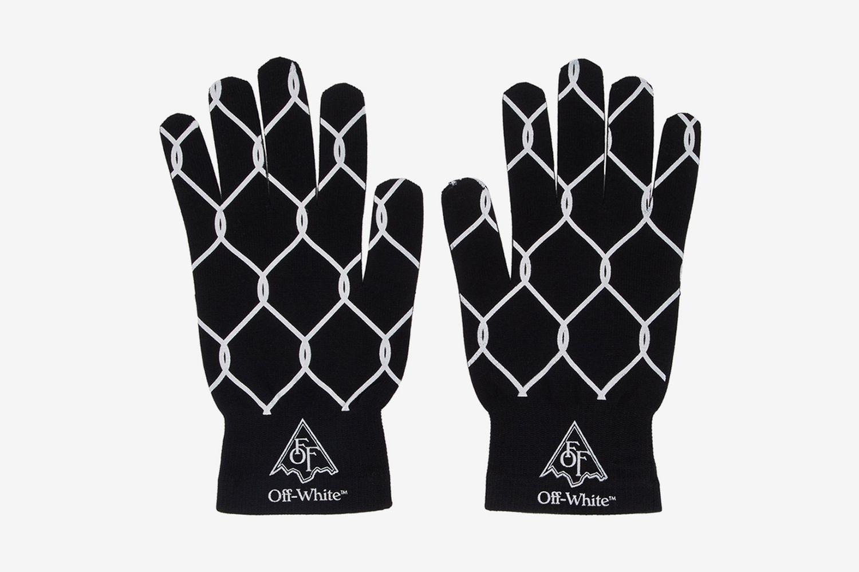 Knit Fence Gloves