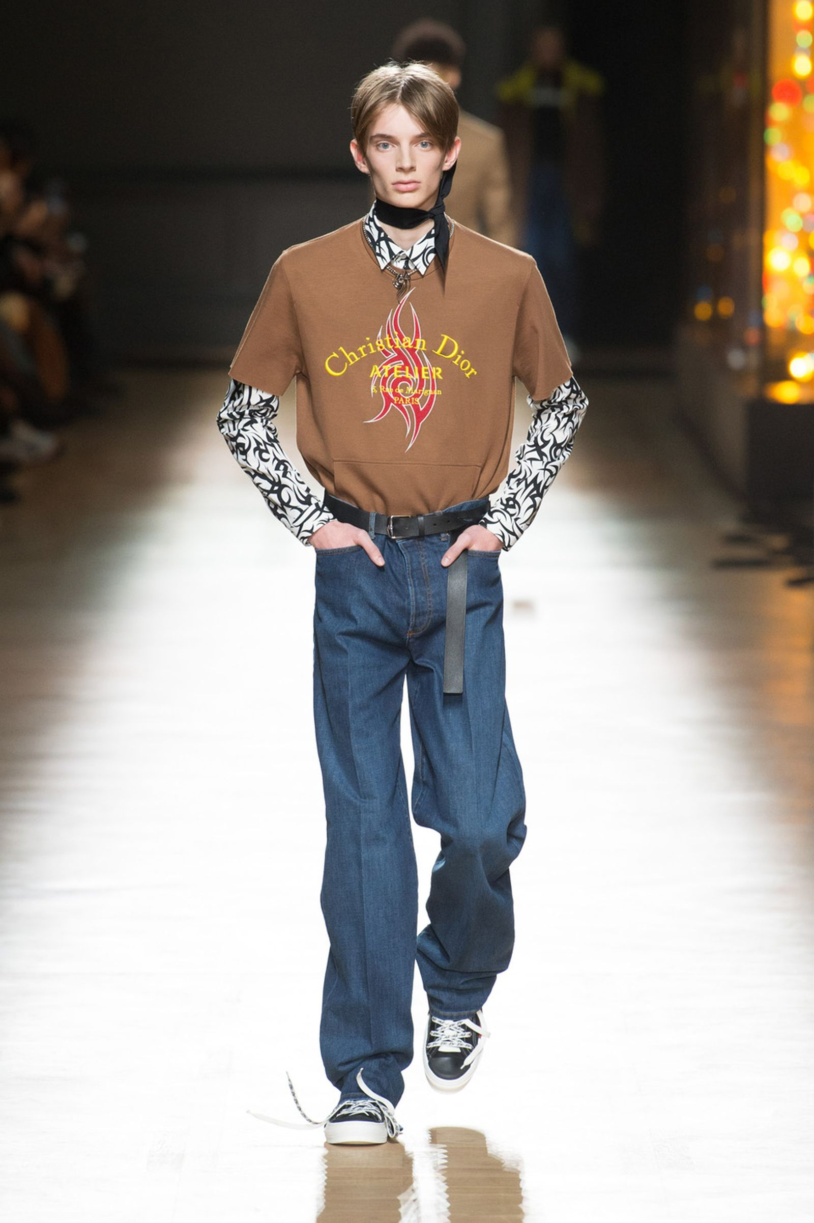 DIOR HOMME WINTER 18 19 BY PATRICE STABLE look31 Fall/WInter 2018 runway