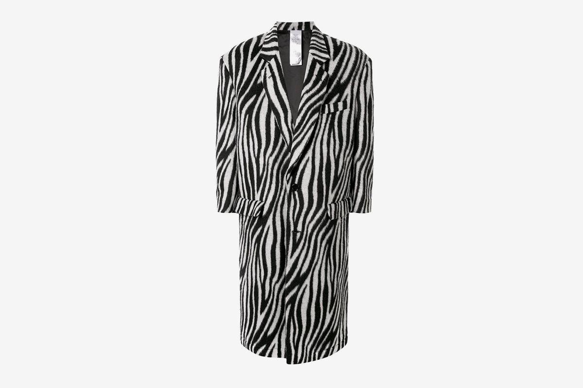 Zebra Pattern Coat