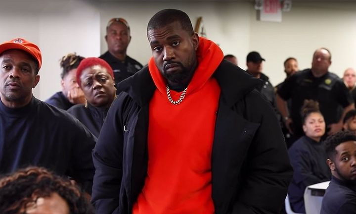 Kanye West Inside Houston Prison Sunday Service